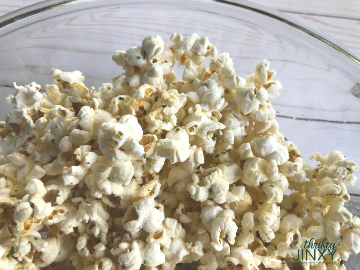 Ranch Seasoned Popcorn