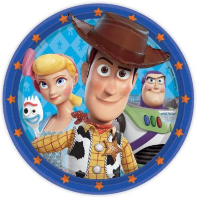 Toy Story Paper Plates