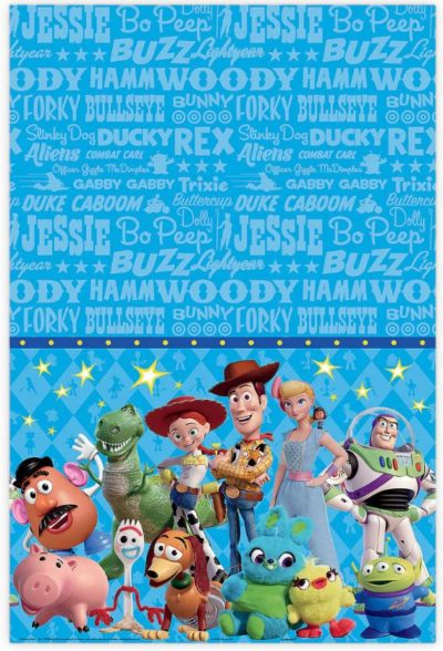 Toy Story Birthday Table Cover