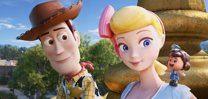 Woody Bo Peep Toy Story 4 with Giggle McDimples