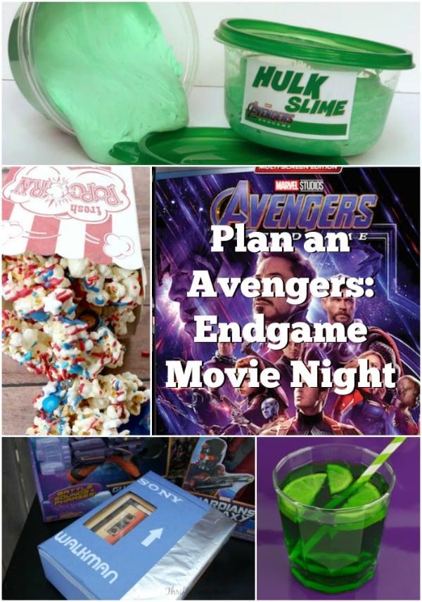 Avengers Endgame Movie Night