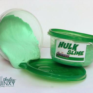 DIY Hulk Slime Craft