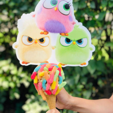 Angry Birds Worm Cone
