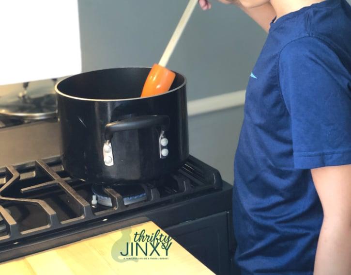 Cooking Rice Krispies Treats