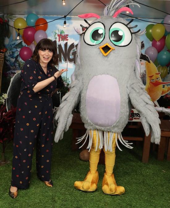 Rachel Bloom Silver Angry Birds