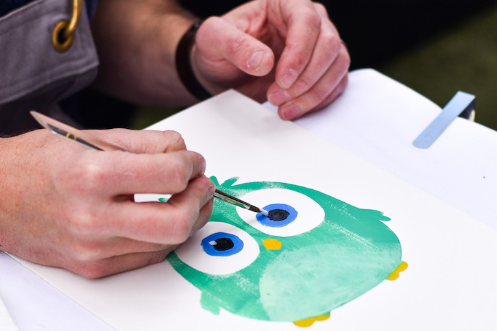 angry birds Hatchling Art