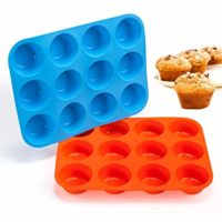 Non-Sticky Silicone Muffin Pan