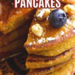 Pumpkin Butterscotch Pancakes
