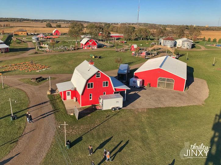 Richardson Adventure Farm Aerial View