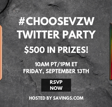 verizon wireless twitter party