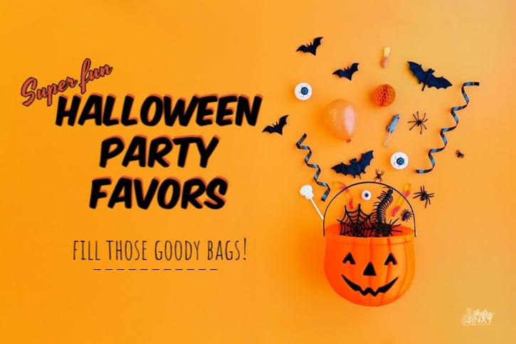 Halloween Party Favors in Pumpkin