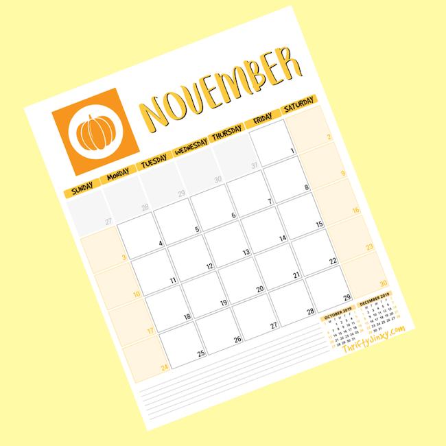 November Calendar Page FB copy