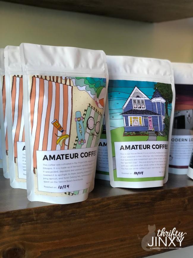 Amateur Coffee Bag Art