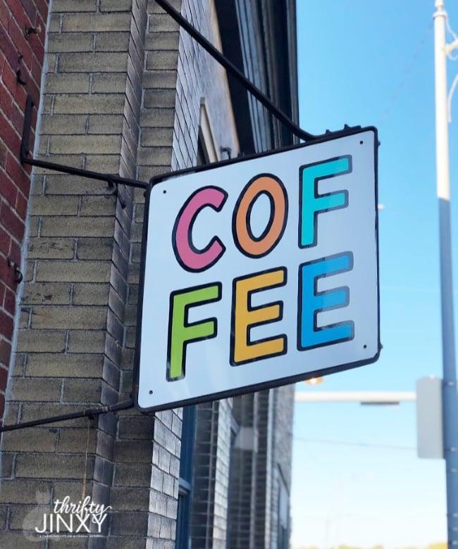 Amateur Coffee Sign Omaha