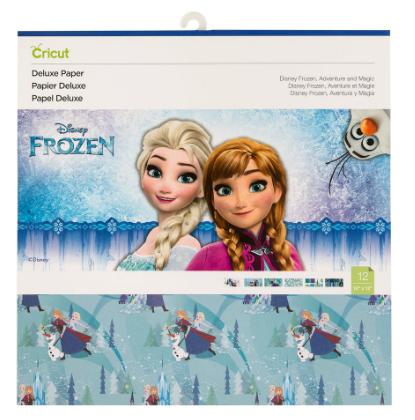 Cricut Disney Deluxe Paper - Frozen Adventure
