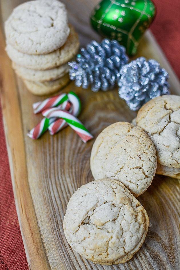 Easy Cake Mix Eggnog Cookies Recipe 4