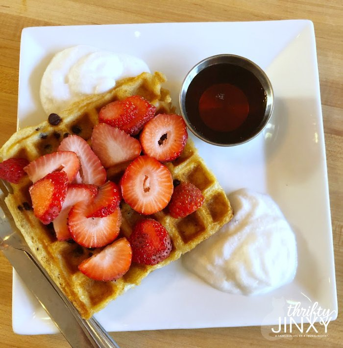 Vegan Waffle Amateur Coffee