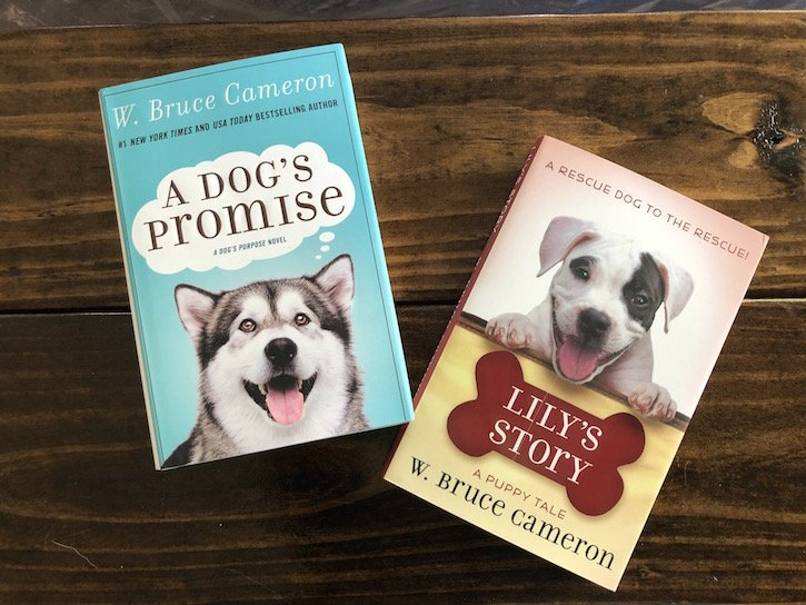 W Bruce Cameron Dog Books