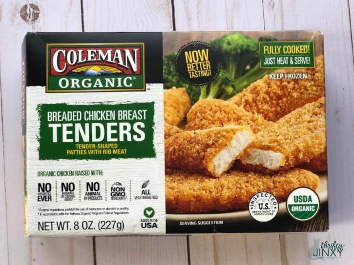 Coleman Natural Foods Organic Breaded Chicken Breast Tenders