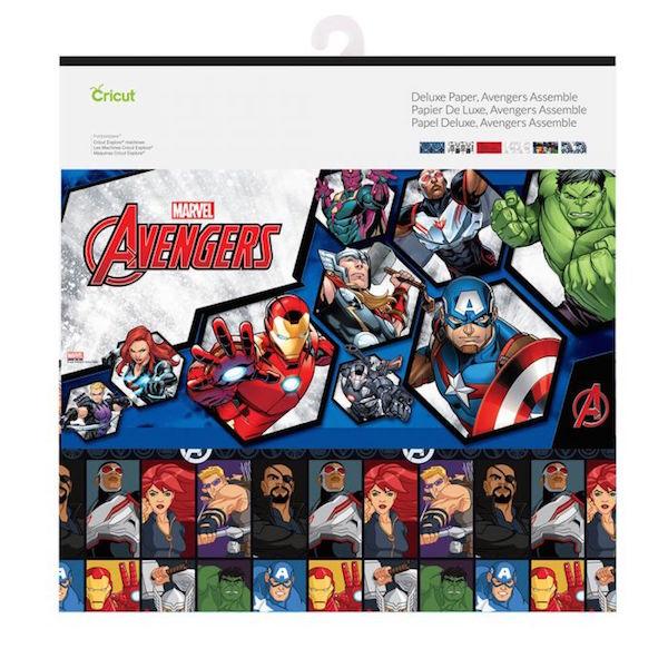 Cricut Deluxe Paper, Marvel Avengers Assemble