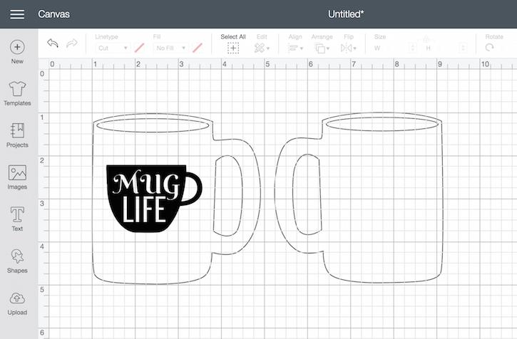 Cricut Mug Life Design Space