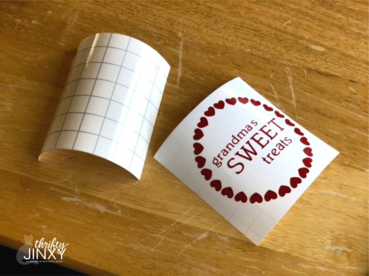 Cricut Transfer Tape for Vinyl Application