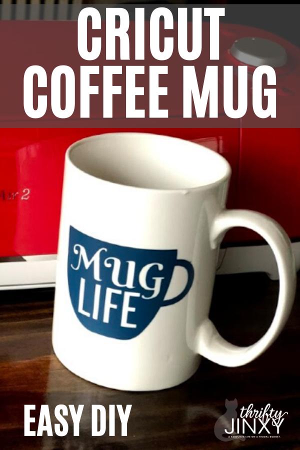 Cricut coffee mug