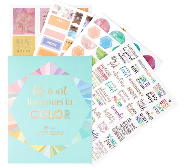 Erin Condren Sticker Book
