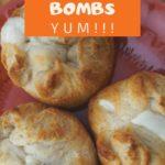 Garlic Cheese Bombs