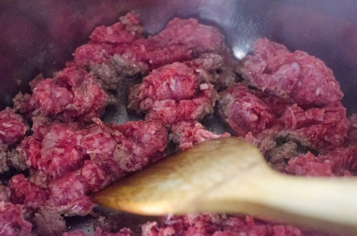 Instant Pot Spaghetti and Meat Sauce process