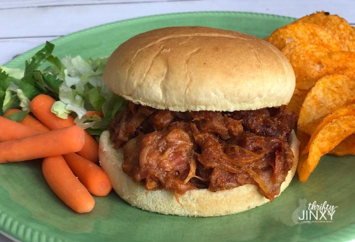 Niman Ranch Pulled Pork Sandwich