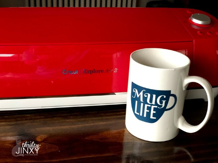 mug life cricut project