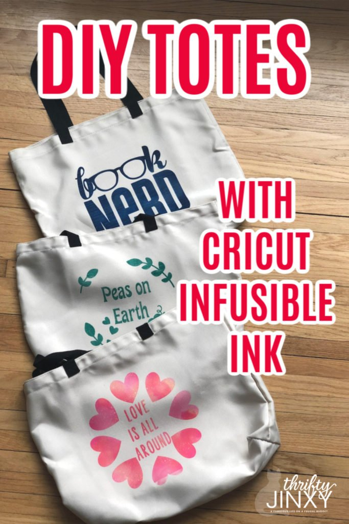 Cricut Totes with Infusible Ink