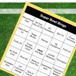 FREE PRINTABLE SUPER BOWL BINGO CARDS