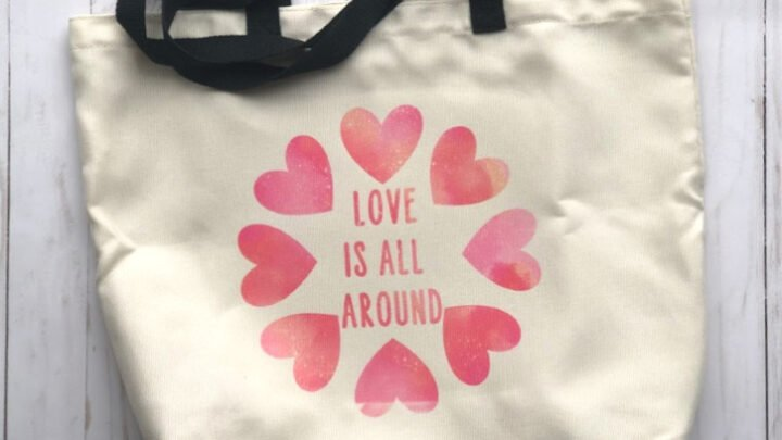 Cricut Infusible Ink Tote Bags