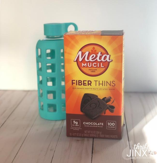 Metamucil Fiber Thins Chocolate