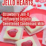 Valentine Jello Hearts Ingredients
