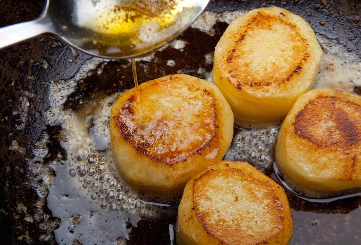Potatoes in Brown Butter