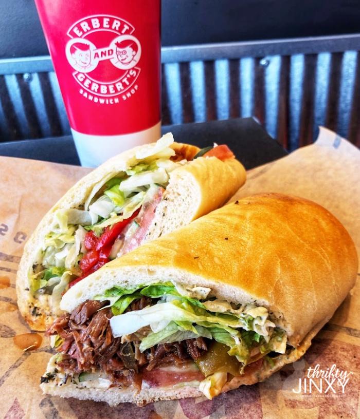 Erbert Gerbert Asian Inspired Sandwiches