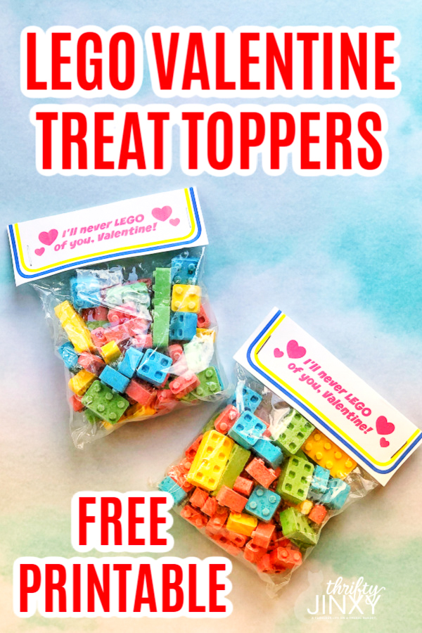 Free Printable LEGO Valentine Treat Topper-2