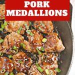 Orange Teriyaki Pork Medallions