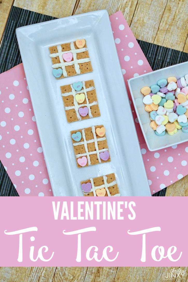 Valentine's Tic Tac Toe Sweet Treat & Game Tutorial