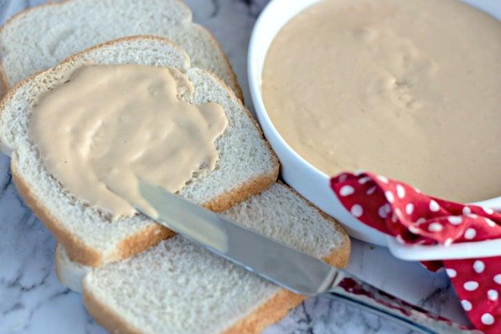 Homemade Amish Peanut Butter Spread