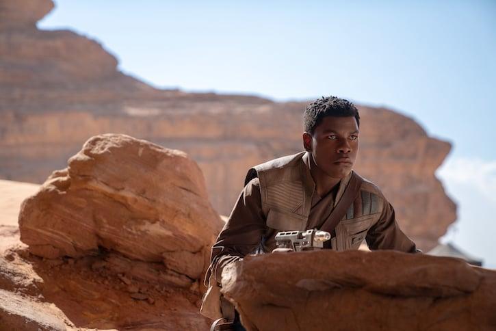 John Boyega is Finn in STAR WARS: RISE OF SKYWALKER.