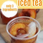 Copycat Sonic Peach Iced Tea