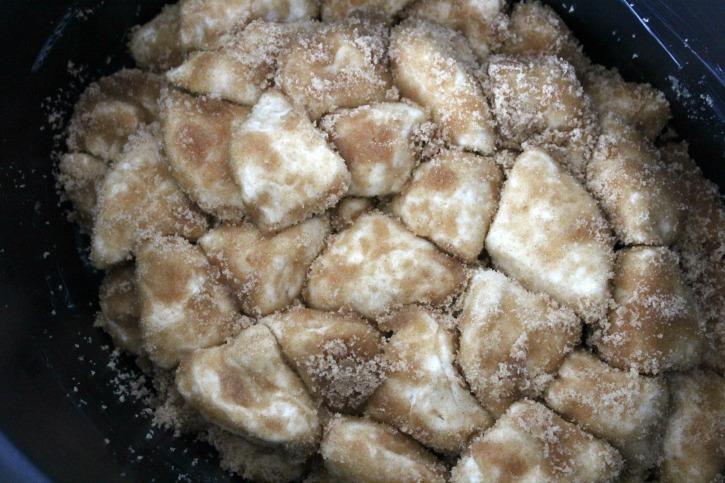 Crockpot Monkey Bread Recipe process