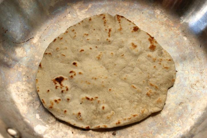 Homemade Flour Tortillas process