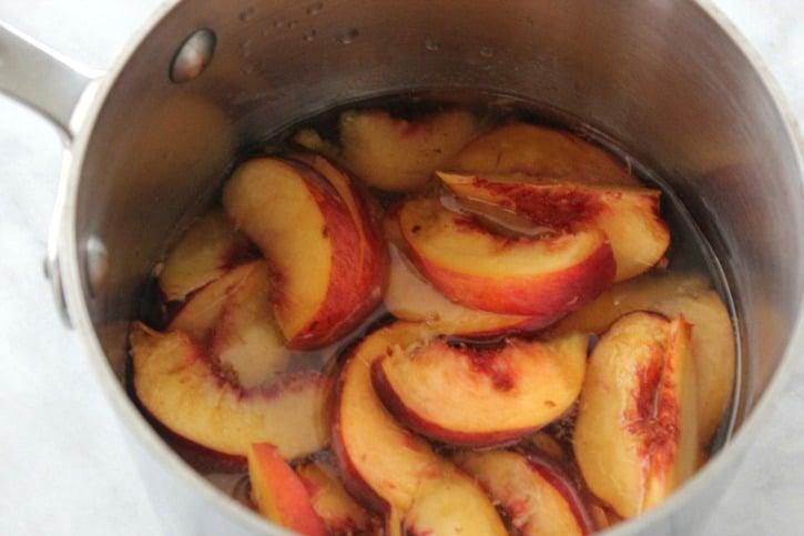 Peach Iced Tea Recipe process