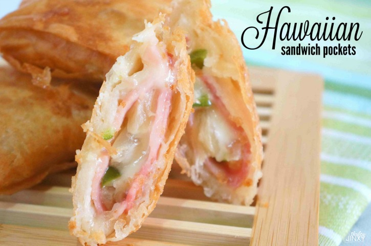 Hawaiian Sandwich Pockets Recipe