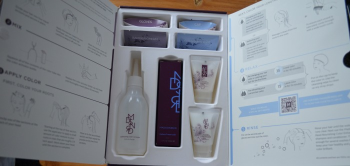 madison reed hair color packaging